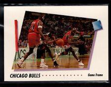 CHICAGO BULLS  w/ MICHAEL JORDAN 1992-93 SKYBOX GAME FRAME #408