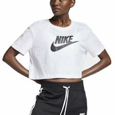psicología Dictadura Poner  Camisas, camisetas y tops de mujer blancos Nike | Compra online en eBay