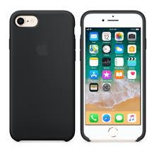 Black Genuine Original Apple Silicone Case For Apple iPhone 7 8