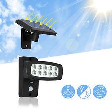 LED Solarleuchte Solarlampe mit Bewegungsmelder Solar Außenleuchte Gartenleuchte