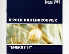 CD JEROEN KUITENBROUWER energy !!  DENNIS MUSIC   EX+  (B1134)