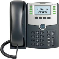 NEW Cisco IP Phone SPA508G 8 Line VoIP Phone 2-Port Switch PoE LCD Display