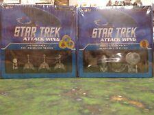 Star Trek Attack The Animated Series & Borg Faction Packs WizKids.