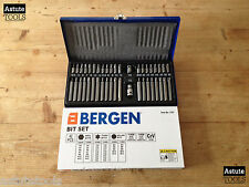 "Hex Torx & Spline Bit Set by Bergen with 3/8"" & 1/2"" Drive Adaptors 42 Piece"