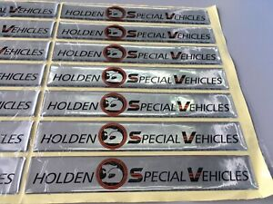 New Holden HSV HDT VN VP VQ VR VS SS Silver V8 HSV SV5000 Engine Decal