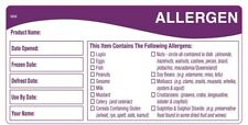 Daymark 116478 allergy storage labels 50mmx100mm 500 labels per roll.