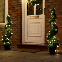 5m Battery Power Outdoor Christmas Fairy LED Lights with Timer | Garden Home