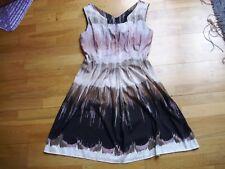 Gorgeous ladies BENETTON summer dress size L excellent condition v