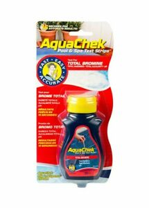 Aqua Chek Test Strip BROMINE (50 Strips INCLUDED) Hottub - Spa - Jacuzzi -Pool