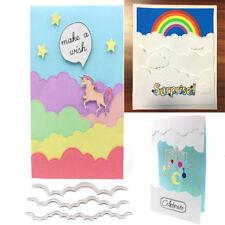 Clouds Metal Cutting Dies Stencils Scrapbooking Photo Album Cards Decor Craft
