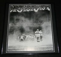 1962 NFL Championship Green Bay Packers vs Giants Framed 12x12 Poster Photo