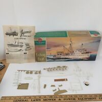 VINTAGE 1962 PYRO JAPANESE FISHING BOAT MODEL Kit - Incomplete Made in USA