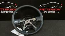 RED STRAP STEERING WHEEL COVER FITS JEEP CHEROKEE KJ BLACK PERFORATED LEATHER
