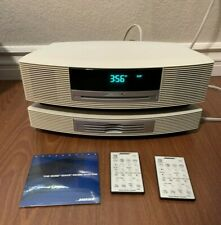 New listing Bose Wave Awrcc1 Music System Radio Cd Player + 3 Disc Changer + 2 Remotes As-Is