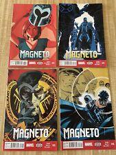 Magneto Vol 3 #13 - #16 by Cullen Bunn Gabriel Hernandez Walta (2014, Marvel)