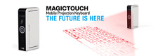 I/O Magic Magictouch Bluetooth Virtual Laser Keyboard - Works w/any device
