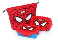 Marvel Spider Man Bento Lunch Bag Cass Picnic Box Child Kids Boys Gift Excursion
