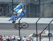 SCOTT DIXON SIGNED PHOTO 8X10 RP AUTOGRAPHED INDY 500 CRASH !