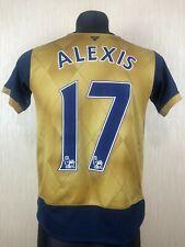 ARSENAL 2015/2016 ALEXIS AWAY FOOTBALL SOCCER SHIRT JERSEY PUMA BOYS SIZE XL