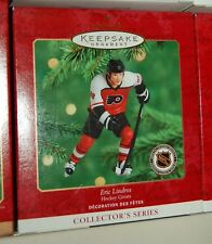 Hallmark 2000 Hockey Eric Lindros NHL Philadelphia FLyers Greats series Ornament