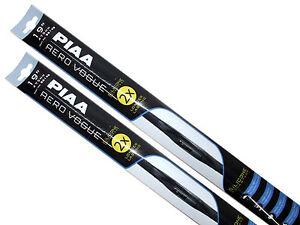 "Piaa Aero Vogue Windshield Wiper w/ Silicone Blades (19""/19"" Set) Made in Japan"