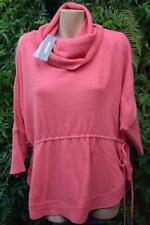 Sussan Begonia Pink Cowl Neck Top/jumper Size XXLarge Wool Blend.