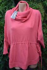 Sussan Begonia Pink Cowl Neck Top/jumper Size Medium Wool Blend.