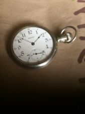 Railroad Style Case Works Good Antique Waltham Equity pocket Watch - Hunter /