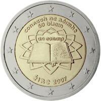 2 euro Irlanda 2007 TDR Trattato di Roma