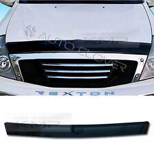 Acrylic Hood Guard Molding Garnish Trim A725 for SSANGYONG 2001 - 2005 Rexton