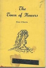 The Town of Flowers Pixie O'Harris poetry Australian 1957 Poppy Treloar stallion
