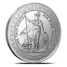 British Trade Dollar 1 oz .999 Silver BU Round USA Made Limited Bullion Coin