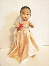 "Vintage / Antique 12"" Composition Baby Doll, Unmarked, Molded Hair & Jointed"