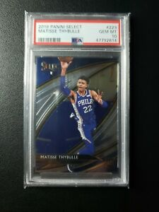 2019 Select Courtside Matisse Thybulle Rookie RC #223 PSA 10 GEM MINT