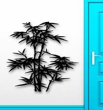 Wall Sticker Vinyl Decal Bamboo Plants Nature for Living Room Decor (ig1281)