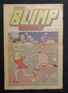 1969 GOTHIC BLIMP WORKS #5 VG/FN 5.0 Underground Tabloid / Vaughn Bode
