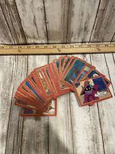 vintage he-man cards lot 1984 mattel MOTU