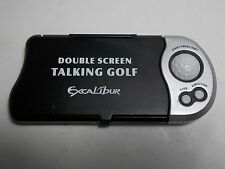 Excalibur Double Screen Talking GOLF Handheld Electronic Travel Game 383-2