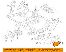 BMW OEM 13-16 535i Seat Track-Lever Right 52207236126