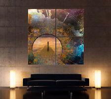High Hopes CUADRO Cuadro Lienzo impresion abstracto de colores CUADRO MURAL XXL