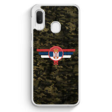 Srbija Serbien Camouflage Samsung Galaxy A20e Hülle Motiv Design Militär Mili...