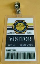 Bones Jeffersonian TV ID Badge-Visitor costume prop cosplay