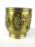 Brass Planter Lion Handles Made In India