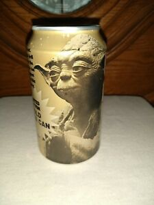 Empty Pepsi - Star Wars Episode I 1 - Limited Edition Gold Yoda Can