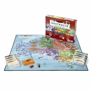 Knowledge Builder - Australian Geography Game - Designed in Melbourne