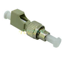 LC Female to FC Male Multimode Fiber Optical Hybrid Adapter Converter MM62.5/125