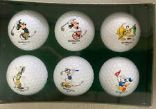 Disney character golf balls new