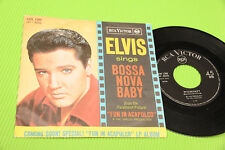 "ELVIA PRESLEY 7"" BOSSA NOVA BABY ORIG ITALY 1963 NM !!!!!!!!! TOP RARE CONDITION"