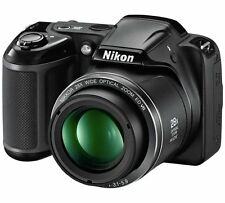 Nuovo di Zecca Nikon Coolpix L340 20MP 28x Zoom Fotocamera Bridge-Nero