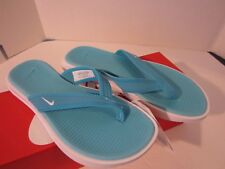 Nike Ultra Celso Thong Women's Blue / White  882698-401 NWT - Free Shipping